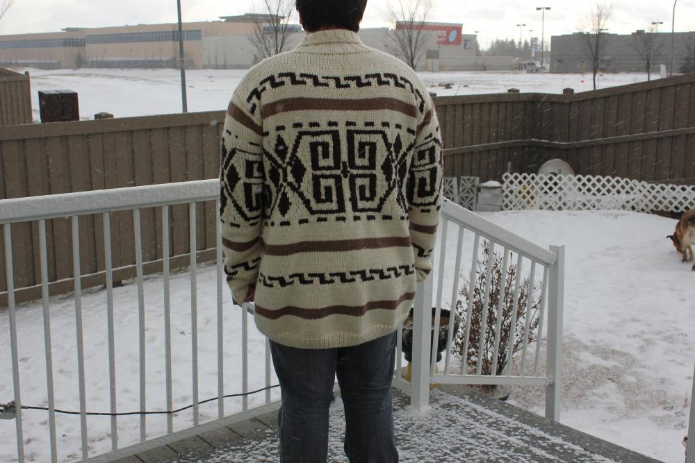 Made TO ORDER/ The Dude's Sweater is Back/The Big Lebowski The Dude Wool Cardigan/for sizes till Large